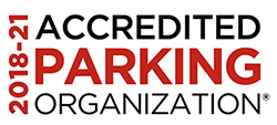 Accredited Parking Organization seal