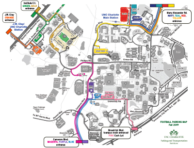 Game-Day Football Parking and Traffic | Parking and