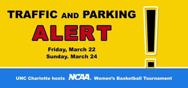 Traffic and Parking Alert for March 22 and March 24