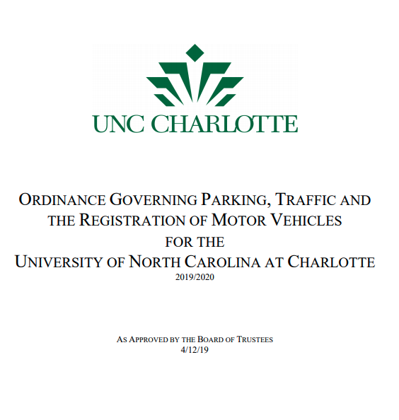 Thumbnail of Parking Ordinance document