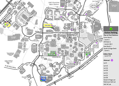 Parking for Campus Visitors | Parking and Transportation Services | UNC Charlotte